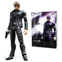 Resident Evil 6 - Boneco Leon S. Kennedy 25cm Play Arts Kai