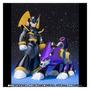 Megaman Bass & Treble Rockman Forte D-arts Bandai Figura