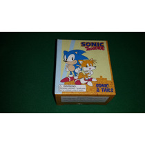 Sonic The Hedgehog And Tails Bonecos Miniaturas Figures