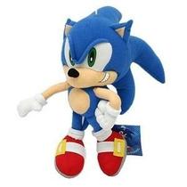 Boneco Pelúcia Grande Sonic Personagem De Games