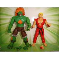 Street Fighter Ken E Blanka Capcon