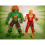 Street Fighter Ken E Blanka Capcon