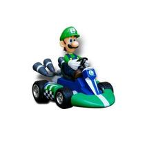 Carrinho Miniatura Mario Kart - Luigi 3cm