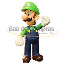 Boneco Colecionável Super Mario Bros Figures - Luigi