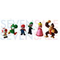 Super Mario & Donkey Kong Decoração Festa Bolo Pvc