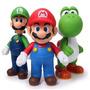 Mario Boneco Super Mario Yoshi Peach Luigi Varios Modelos Un