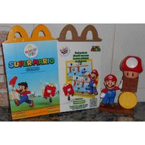 Mario + Super Cogumelo Com Som Promoção Mcdonalds / Nintendo