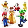 Kit 12 Bonecos Super Mario Bros Donkey Kong Toad Luigi Yoshi