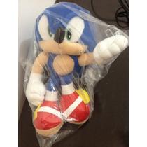 Boneco Sonic The Hedgehog Pelucia - Aproximadamente 30 Cm