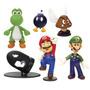 Boneco Super Mario Bros Mini Figure Collection Series 1