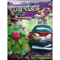 Tartarugas Ninja + Máscara Kit Em Blister