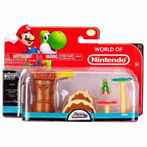Brinquedo Micro Land Super Small Mario Nintendo Dtc 3526