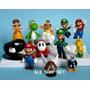 Bonecos Super Mario Bros Kit C/ 12 - Novos - Pronta Entrega