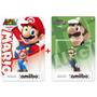 Amiibo Super Mario + Luigi Nintendo Original Novos Lacrados