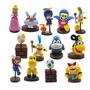Bonecos Super Mario Bros Coleção Mario Koopalings Miniaturas