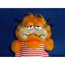 Antigo Garfield Banhista De Pelúcia Da Estrela Dos Anos 80