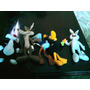 06 Figuras Looney Tunes - Mc Donald´s + 04 Cards - Lote