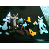 06 Figuras Looney Tunes - Mc Donald´s + 04 Cards - Lote