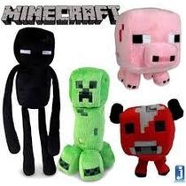 Bonecos De Pelúcia Minecraft Varios Personagens