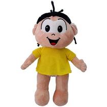 Boneco Pelúcia Magali Infantil Grande Turma Da Monica