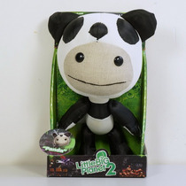 Boneco De Pelúcia Sack Boy Little Big Planet 2 Panda 16 Cm