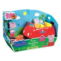 Carro Picnic Peppa Pig Com Som Fisher Price Pronta Entrega