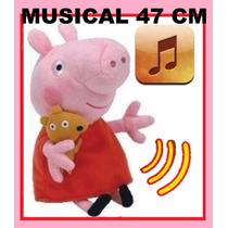 Pelucia Peppa Pig Musical 47cm De Altura Pronta Entrega!!!!!