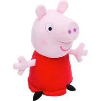Peppa Pig Pelúcia 30cm Pronta Entrega - Pepa