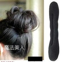 Clip Para Penteados Forrado - Donut Hair - 2 Unidades