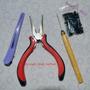 Kit Microlink Alicate+agulha+100 Microlink Megahair +clips.