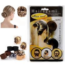 Hairagami Aragami Capilar Cabelo Modelador Cachos Coques Kit