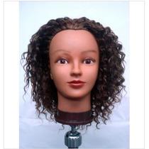 Cabeça De Treino Afro Natural Ideal Curso P/tranças,cortes