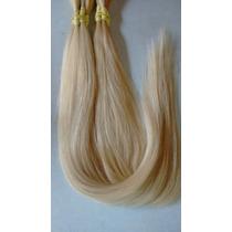 Cabelo Natural Humano Loiro Liso 100gr 70cm - Mega Hair