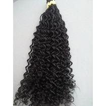 Cabelo Natural P/mega Hair Cacheado 70 Cm 100 Gramas