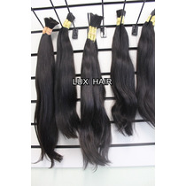 Cabelo Humano Natural Indiano 60 Cm 50gramas Mega Hair