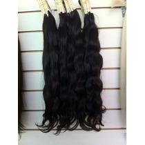 Aplique-cabelo Humano -megahair-ondulado - 60cm -50 Gr