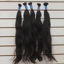 Cabelo Humano Natural Liso 50-55 Cm 50 Gramas Para Mega Hair