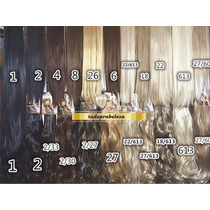 Hair Cabelo Alongamento Aplique Tic Tac Fibra Japonesa 60cm