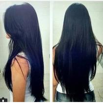 Cabelo Humano Natural Indiano Liso 60cm 100gr Mega Hair