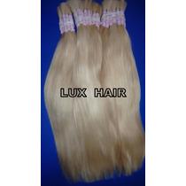 Cabelo Natural Humano Loiro Liso 50gr 50cm - Mega Hair