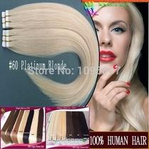 Mega Hair Aplique Fita Adesiva 60cm Humano 5a Pronta Entrega