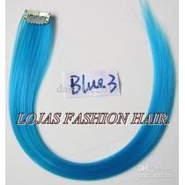 Aplique Tic Tac Mecha Colorida Azul Claro / 3cm X 50 Cm!!!