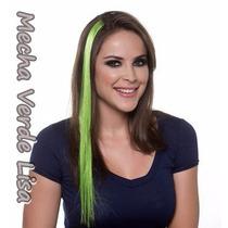 Aplique Mecha Verde Lisa 1 Peça / 55 Cm / Pronta Entrega