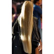 Aplique Tic Tac Hair Cabelo Fibra Japonesa Loiro Frete Grati