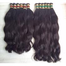 Aplique-cabelo Humano -megahair- Alongamento 50/55cm -50 Gr