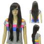 Peruca Longa Comprida 80 Cm Full Wig Resistente Ao Calor