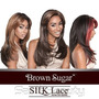 Lace Front Wig Brown Sugar Silk Lace Bs603