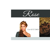 Peruca Lace Front Wig Rose Da Equal
