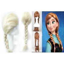 Kit Perucas Frozen Elsa E Ana Adulto - Pronta Entrega