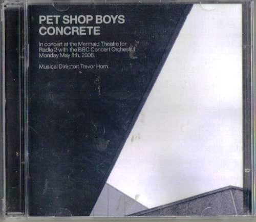 Pet shop boys concrete in concert at mermaid 2006 2 cd r 46 00 no mercadolivre - Cd concreet ...